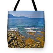 Lobster Cove In Rocky Harbour-nl Tote Bag