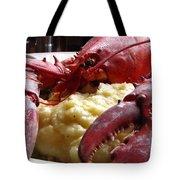 Lobster Dinner Tote Bag