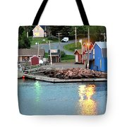 Lobster Fishing Days End Tote Bag