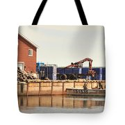Lobster Fishing Processing Tote Bag