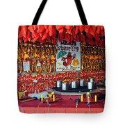 Lobster Flop Tote Bag by Skip Willits
