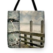 Lobster Nets Tote Bag