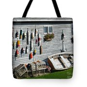 Lobster Pots And Buoys Tote Bag