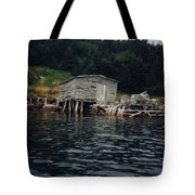 Lobster Pots And Old Stage Tote Bag