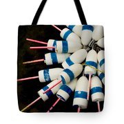 Lobster Trap Bouy Bunch Tote Bag