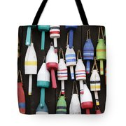 Lobster Trap Marker Bouys Tote Bag