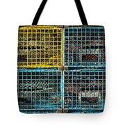 Lobster Traps Tote Bag by Stuart Litoff