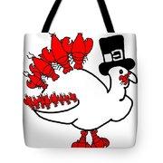 Lobster Turkey Tote Bag