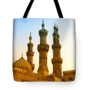 Local Cairo Mosque 05 Tote Bag