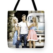 Local Country Store Pinup Tote Bag