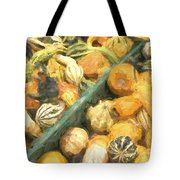 Local Glazed Gourds Painterly Effect Tote Bag