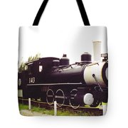 Locamotive Engine Landscape Tote Bag