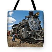 Locomotive Engineer Tote Bag