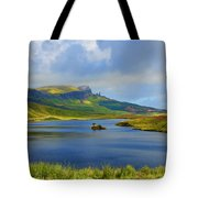 Loch Fada To The Storr Tote Bag