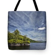 Loch Katrine Landscape Tote Bag