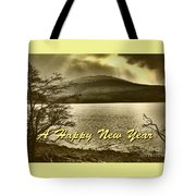 Loch Lomond  New Year Greeting Tote Bag