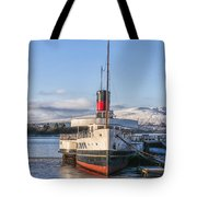 Loch Lomond Paddle Steamer Tote Bag