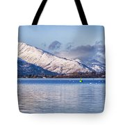 Loch Lomond Panorama Tote Bag by Antony McAulay