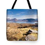 Loch Torridon From Bealach Na Gaoithe Tote Bag