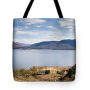 Loch Torridon Panorama Tote Bag