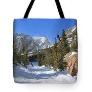Loch Vale Winter Tote Bag