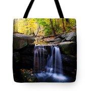 Loch Waterfall Tote Bag
