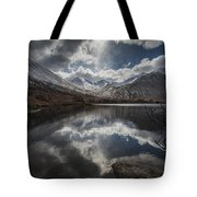 Lochan Urr Glen Etive Glencoe Scotland Tote Bag