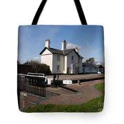 Lock Cottages Tote Bag