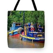 Lock Tugs Tote Bag