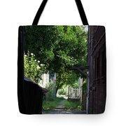 Locke Chinatown Series - Alley With Trees - 5 Tote Bag