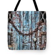 Locked And Chained Tote Bag