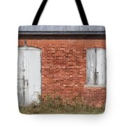 Locked And Shuttered Tote Bag