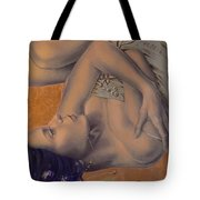 Locked In Silence Tote Bag