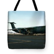 Lockheed C-5 Galixy Tote Bag