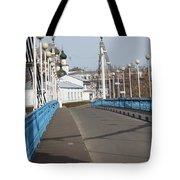 Locks On Bridge Tote Bag
