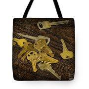 Locksmith - Rejected Keys Tote Bag