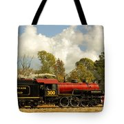 Locomotion Tote Bag by Robert Frederick