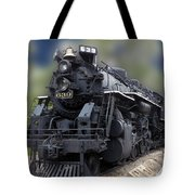 Locomotive 639 Type 2 8 2 Front And Side View Tote Bag