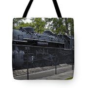 Locomotive 639 Type 2 8 2 Side View Tote Bag