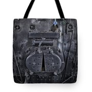 Locomotive 886 Steam Boiler Firebox Tote Bag