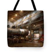 Locomotive - Locomotive Repair Shop Tote Bag