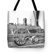 Locomotive Sandusky, 1837 Tote Bag