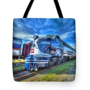 Locomotive Wabash E8 No 1009 Tote Bag