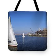 Locust Pt Sailing Tote Bag