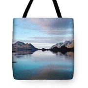 Lofoten Islands Water World Tote Bag