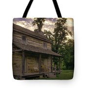 Log House Dusk Tote Bag