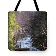 Log Jam Tote Bag