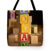 Logan - Alphabet Blocks Tote Bag