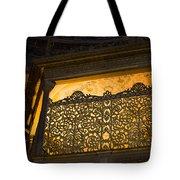 Loge Of The Sultan In Hagia Sophia  Tote Bag