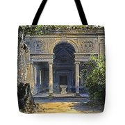 Loggia Of The Muses Tote Bag